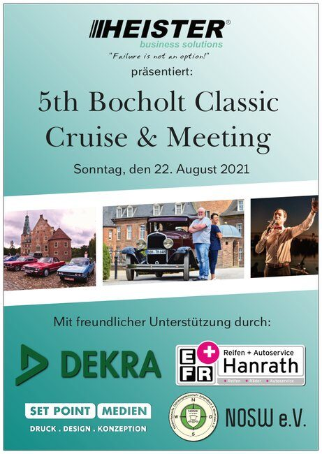 5th Bocholt Classic Flyer Front